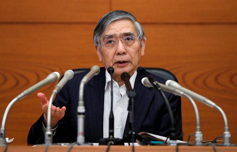 BOJ's Kuroda says he discussed global economic developments with PM Abe