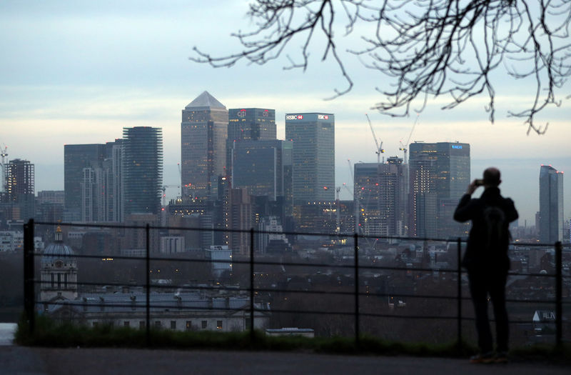 Business survey says Brexit biggest threat to UK financial center