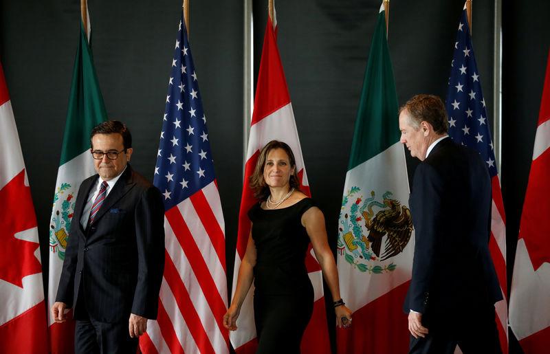 Canada hopeful NAFTA talks can continue, sees some progress