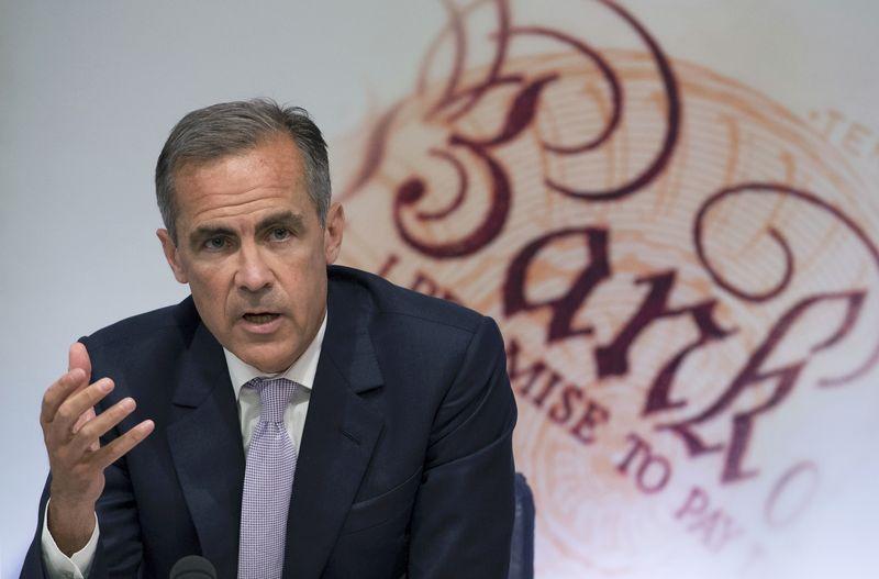 Carney Says Brexit Made U.K. Poorer in Defense of BOE Forecasts