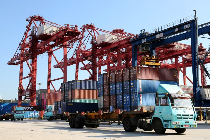 China's September trade surplus with U.S. widens to record .13 billion