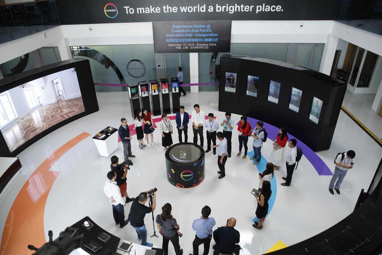Covestro unveils Asia Pacific Innovation Experience Center