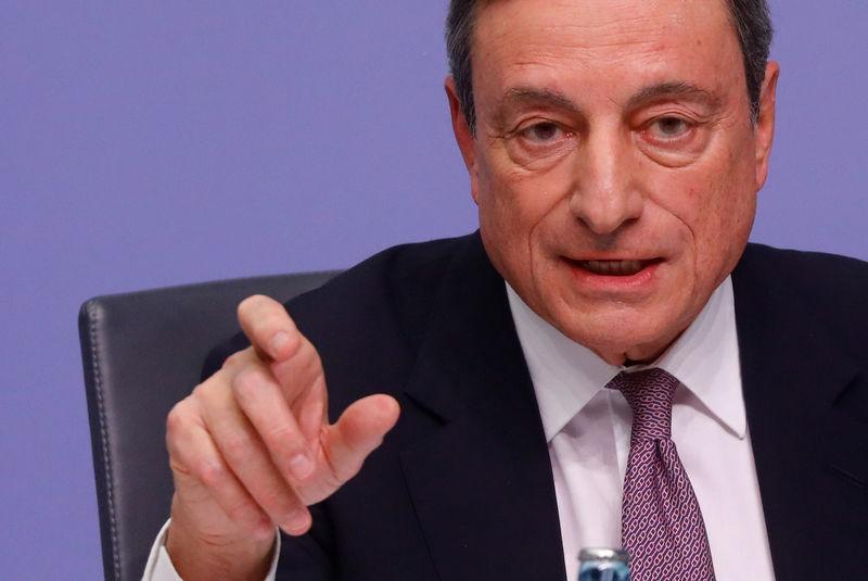 ECB's Draghi bats back call to adopt EU register for lobbyists