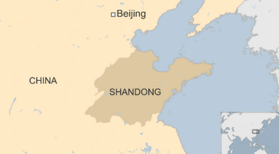 Fire breaks out at warehouse in China's Shandong province, no casualties so far