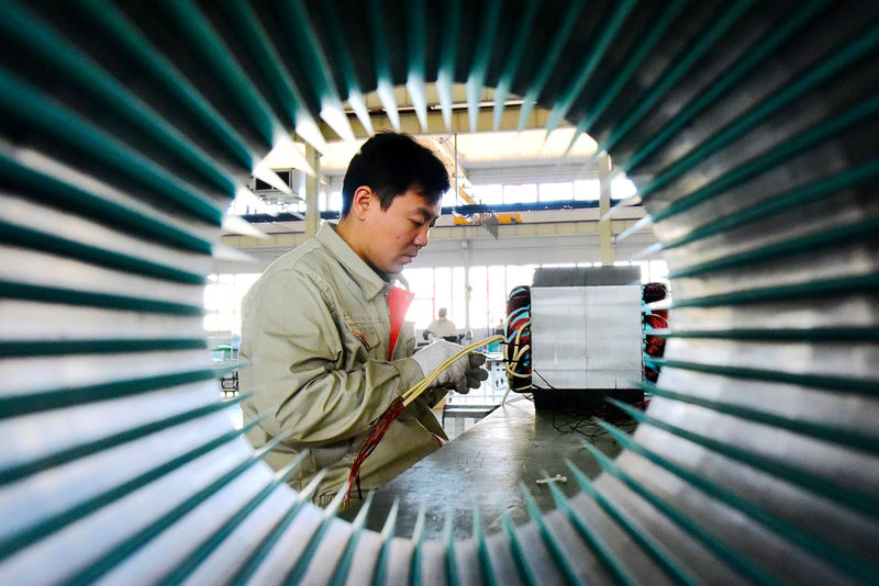 Growing China downdraft chills Asia factory activity