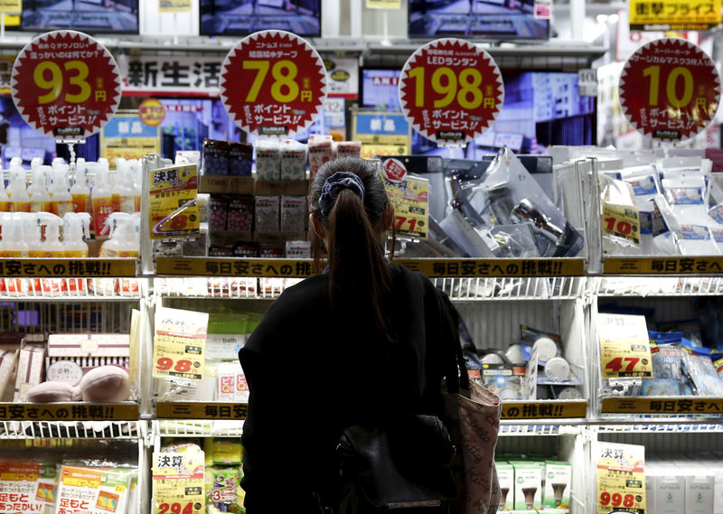 Japan's consumer inflation ticks up but still distant from BOJ's goal