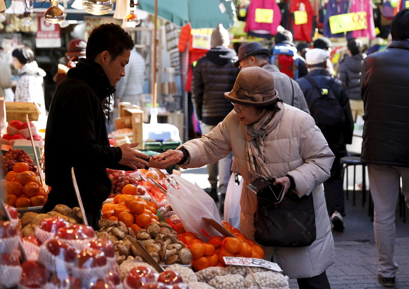 Japan's Jan household spending seen falling due to warm weather: Reuters poll