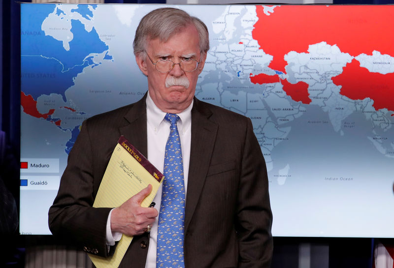 Move over ayatollahs: Bolton turns tweets and talons on Maduro