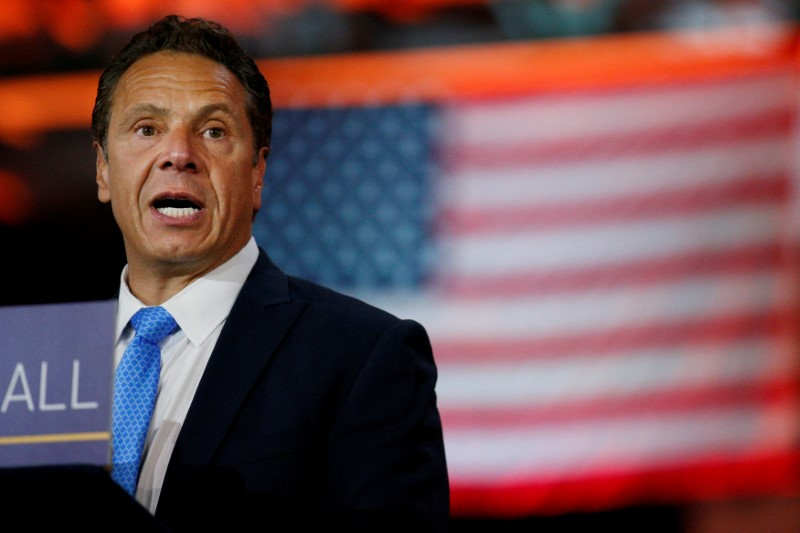 NY, California governors say residents would suffer under Trump tax cuts