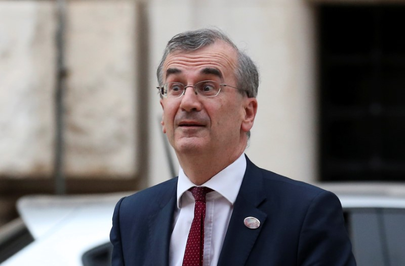 Risks growing that could alter ECB's tightening plan: Villeroy