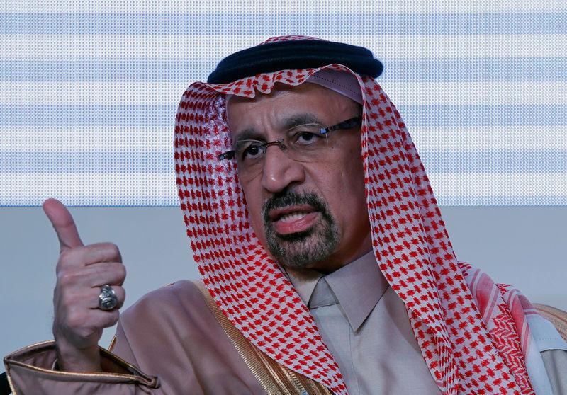 Saudi's Falih tells Trump 'we are taking it easy': CNBC