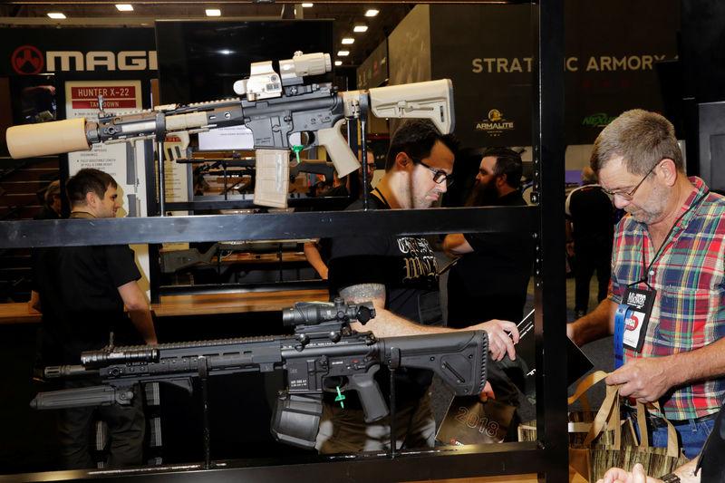 Shunned by corporations, U.S. gun entrepreneurs launch start-ups