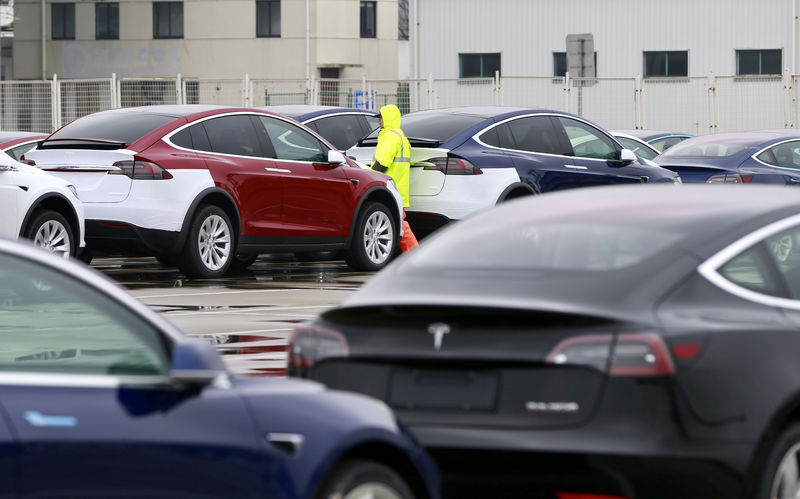Tesla rolls out Model 3 in China ahead of schedule in sales push