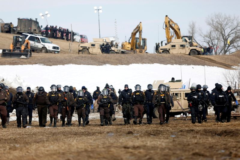 Tribes say Dakota Access oil pipeline's environmental review is biased