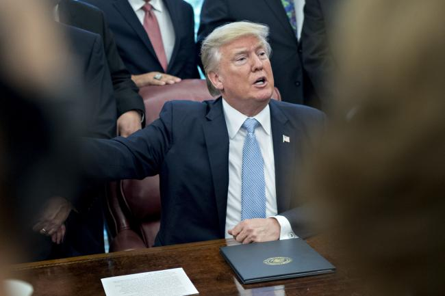 Trump Blasts Fed Rate Hikes Again, Says Strong Dollar Hurts U.S.