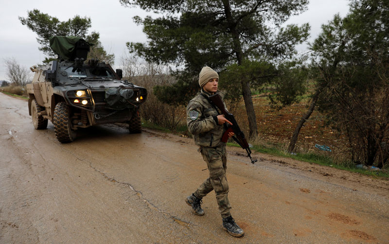 Turkey's Erdogan says military operation to make big sweep east across Syria