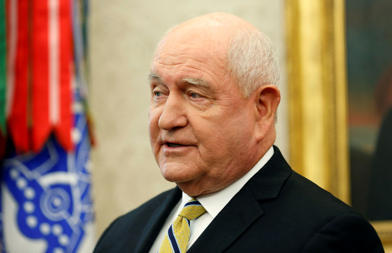 U.S. Agriculture Secretary says hopes US will ratify new North American trade deal by summer