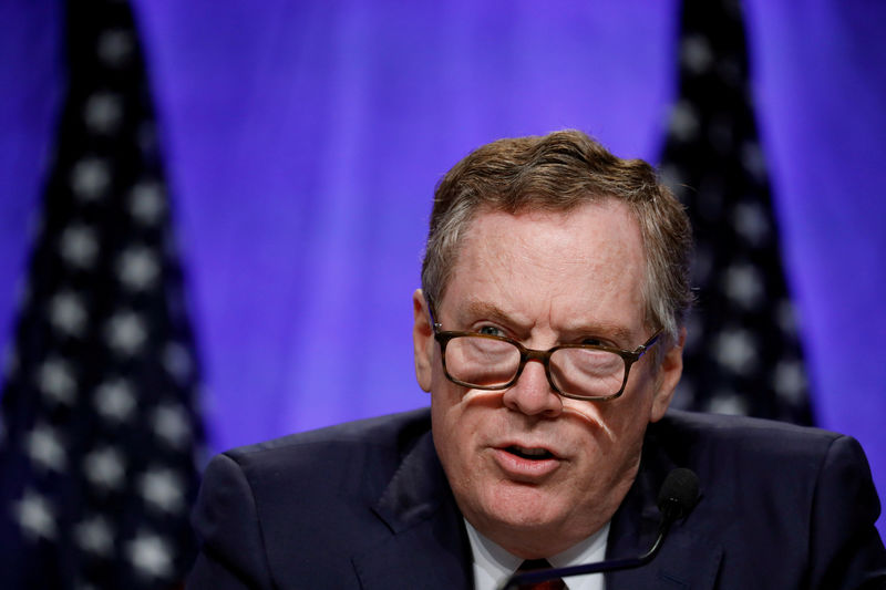 U.S. gives Davos trade meeting no clues on ending WTO crisis