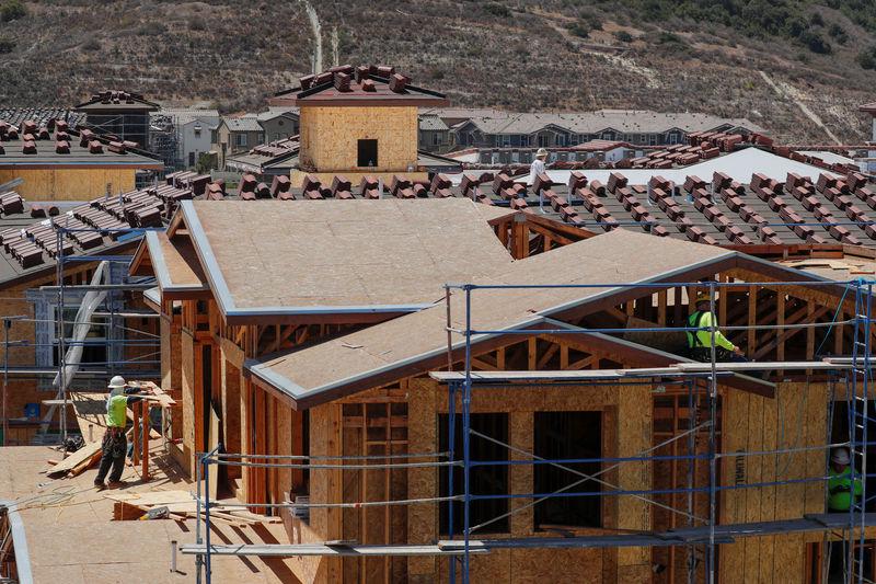 U.S. housing starts drop to a nine-month low
