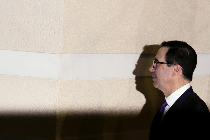 U.S. supports France's G7 push for minimum corporate taxation: Mnuchin