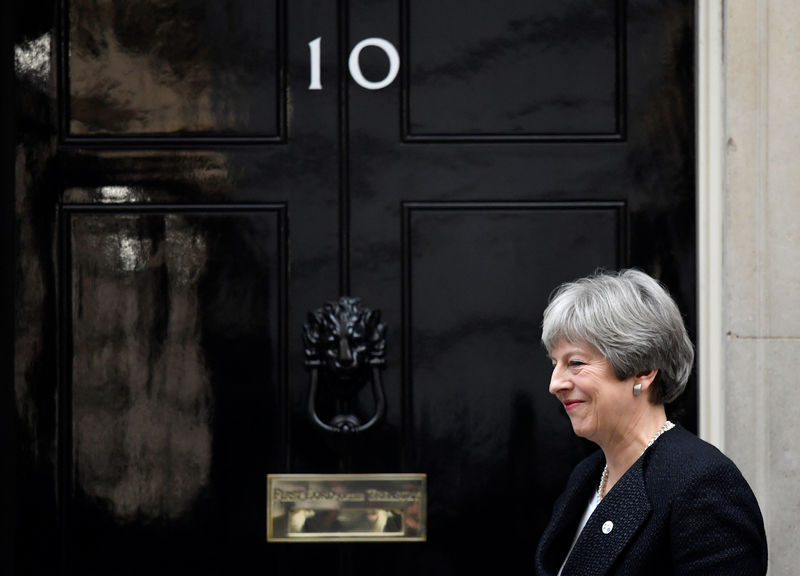 UK PM May says she wants free trade deal with China