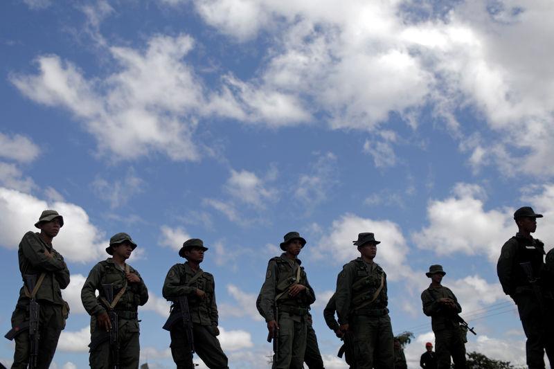 Venezuelan troops open fire near border as aid standoff intensifies