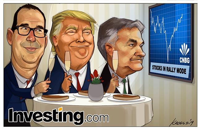 Weekly Comic: Powell Dovish Turn Fuels V-Shaped Recovery Much to Trump's Delight
