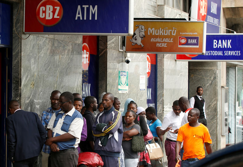 Zimbabwe sold up to  million to banks for trade on new forex platform: sources