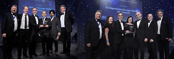 Bridgestone Win Two Prestigious Awards at NTDA Awards