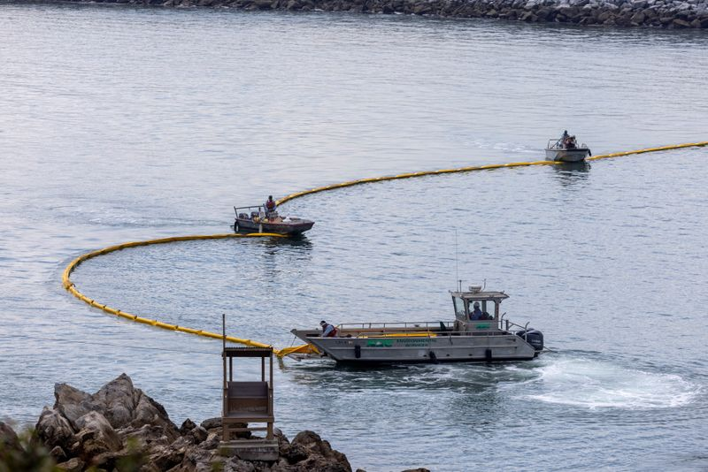 California lawmakers vow to investigate offshore oil spill