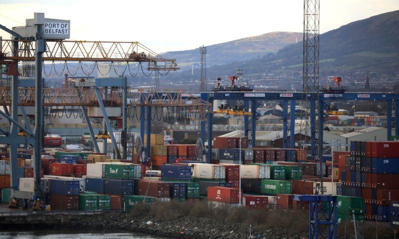 EU proposes easing controls on British trade to N. Ireland