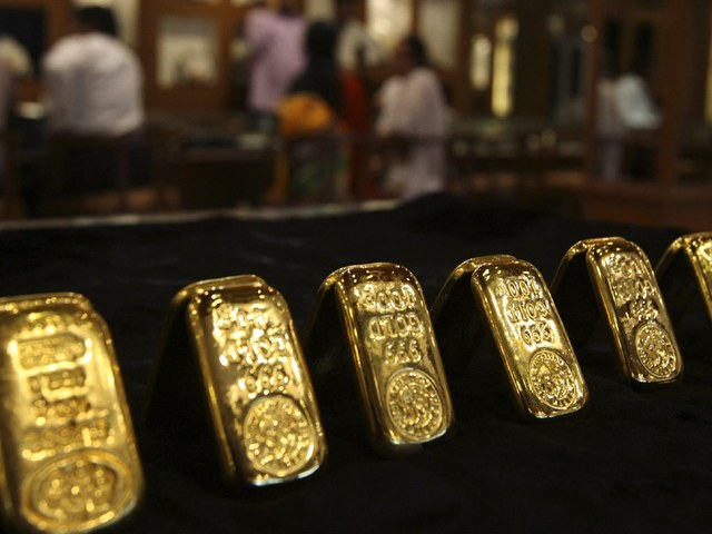 Gold prices increase by Rs2,300 to Rs119,000