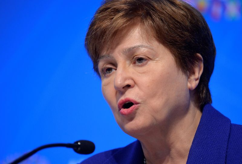 IMF board to meet again on Georgieva review Friday -source