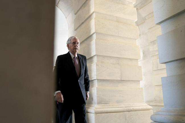 McConnell Tells Biden Republicans Won't Cooperate on Debt Limit