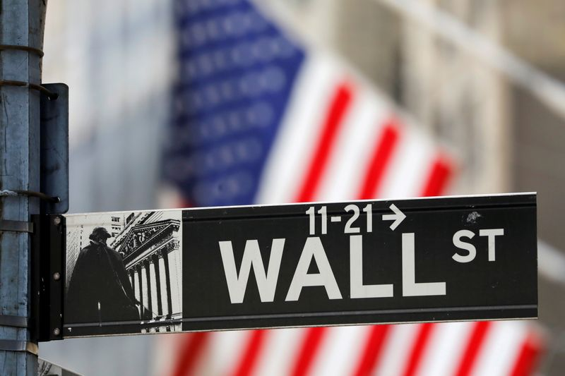 Wall Street slips as caution rises over earnings; financials down